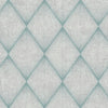 Enlightenment Blue Diamond Geometric Wallpaper