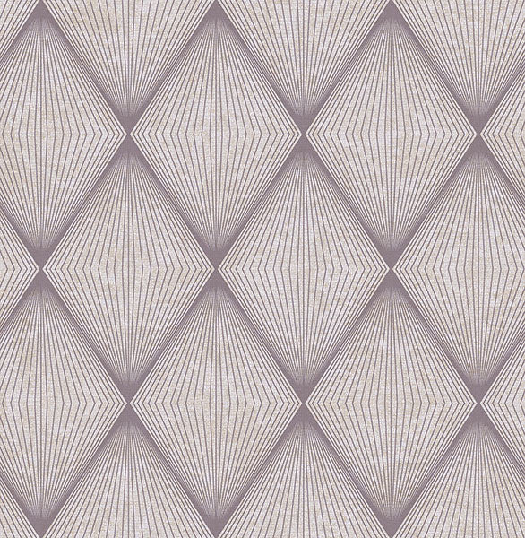 Enlightenment Eggplant Diamond Geometric Wallpaper