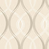 Echo Cream Lattice  Wallpaper