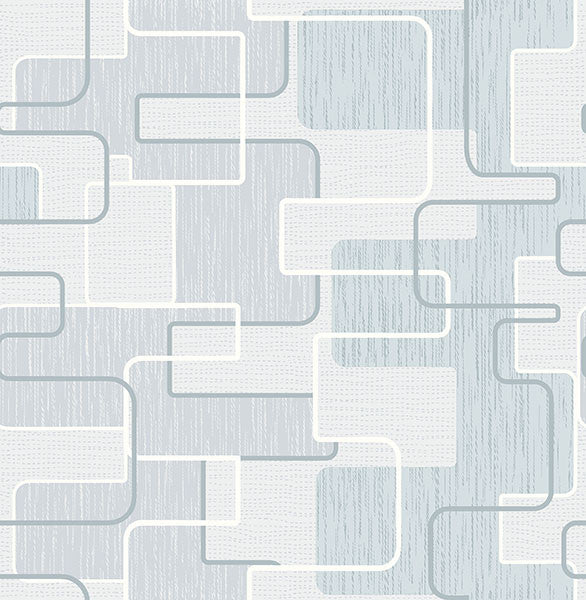 Integrate Blue Geometric Wallpaper