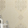 Energico Gold Medallion Wallpaper