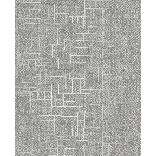 Etude Silver Geometric Wallpaper