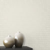 Atonal Grey Stripe Wallpaper