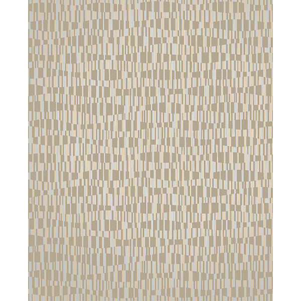 Atonal Taupe Stripe Wallpaper