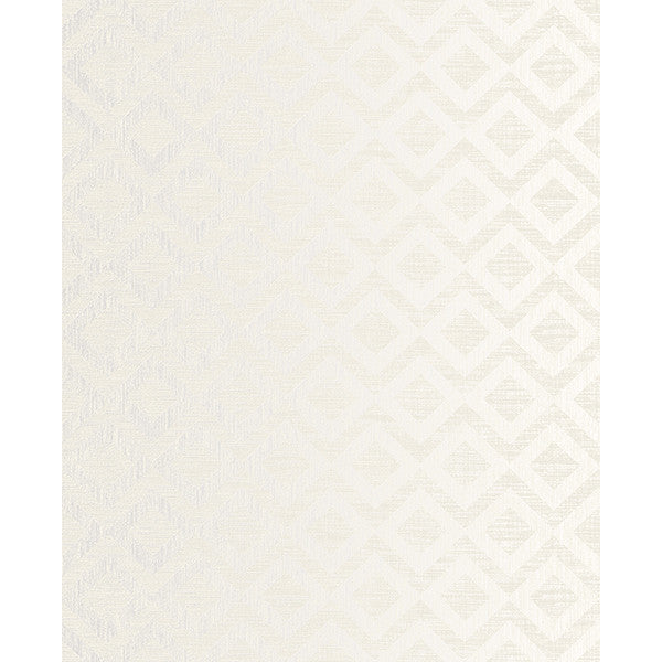 Cadenza Grey Geometric Wallpaper