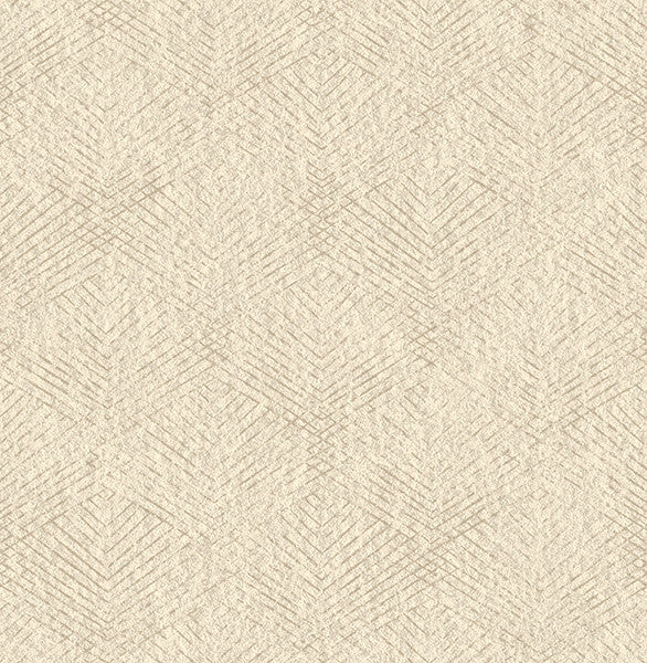 Tangent Beige Geometric Wallpaper