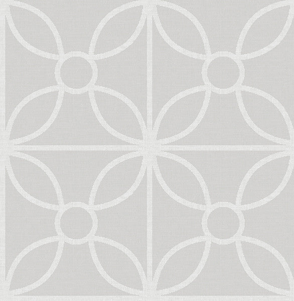 Savvy Neutral Geometric Wallpaper