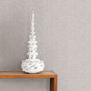 Hip Pewter Ogee Wallpaper