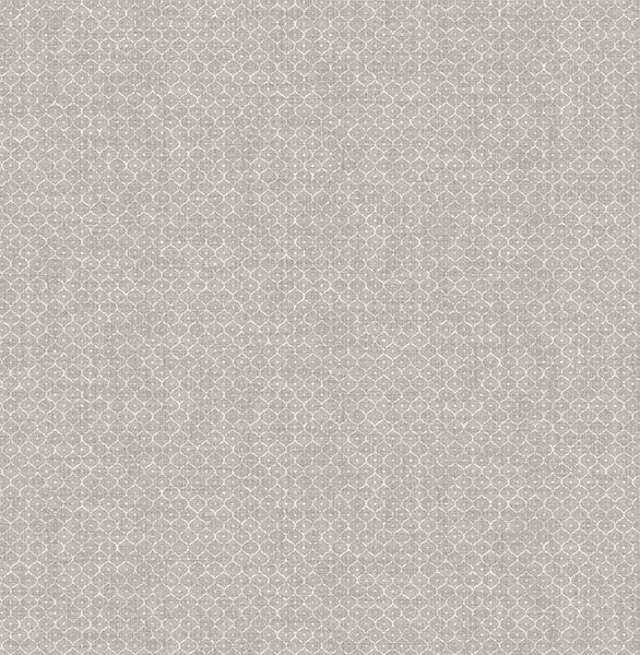Hip Grey Ogee Wallpaper