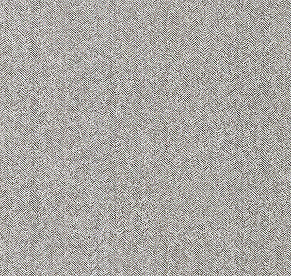 Hound Grey Herringbone Wallpaper