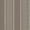 Adria Chocolate Jacquard Stripe Wallpaper