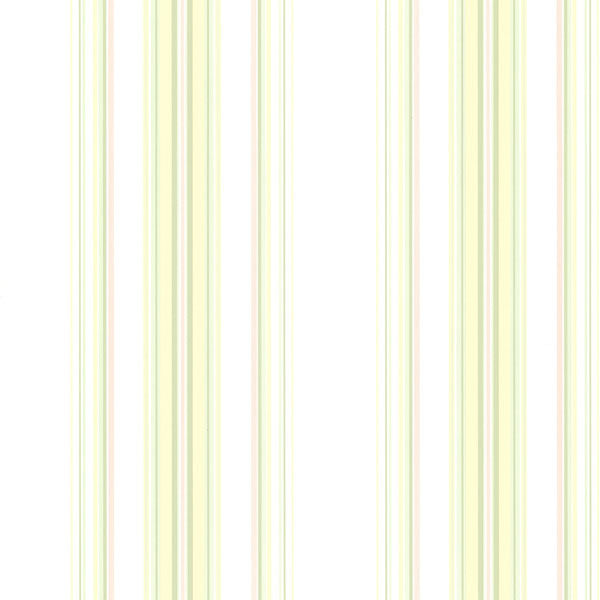 Lenna Yellow Jasmine Stripe Wallpaper