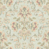 Mysore Light Green Damask Wallpaper