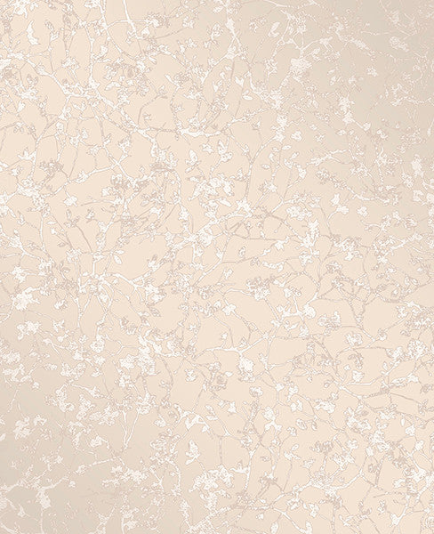 Palatine Champagne Leaves Wallpaper