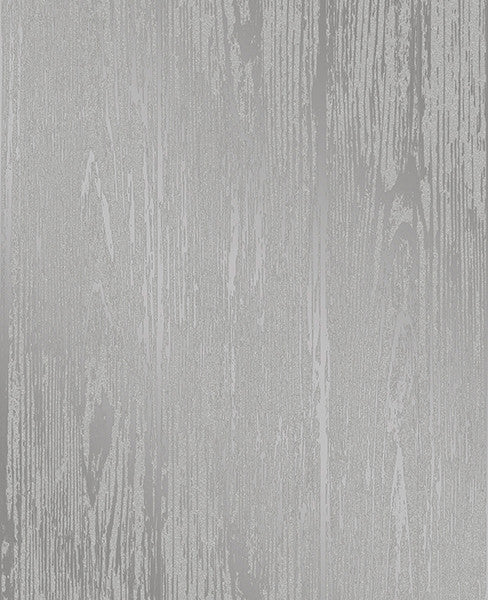 Enchanted Grey Woodgrain Wallpaper