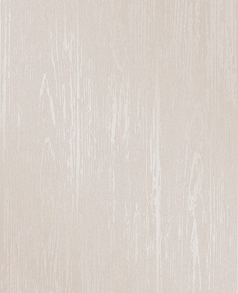 Enchanted Cream Woodgrain Wallpaper