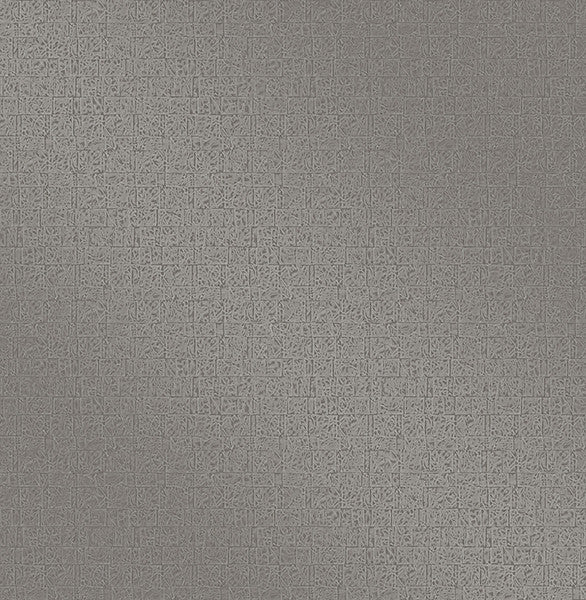 Urbana Grey Geometric Texture Wallpaper
