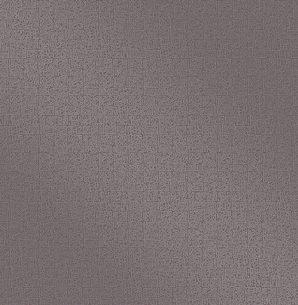 Urbana Purple Geometric Texture Wallpaper