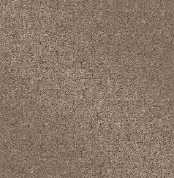 Urbana Ash Geometric Texture Wallpaper