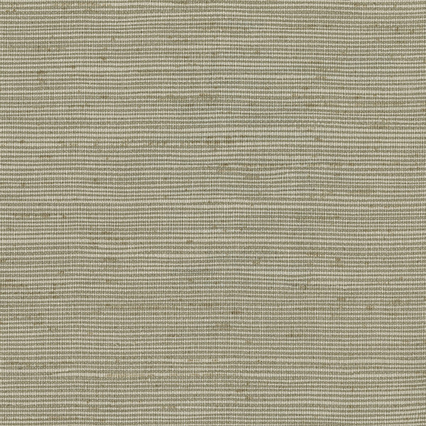 Alan Taupe Horizontal Slub Wallpaper