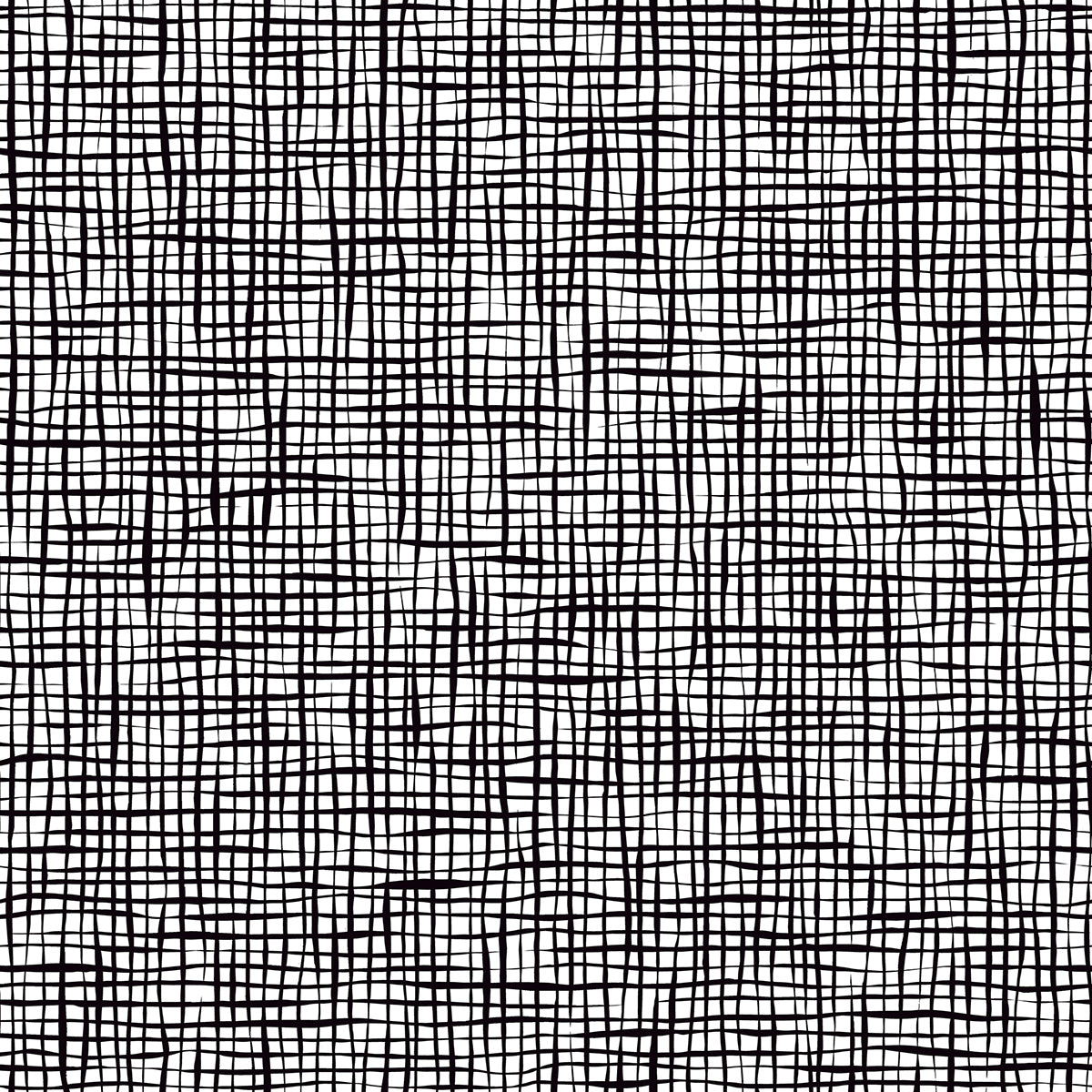 Shanti Black Grid Wallpaper