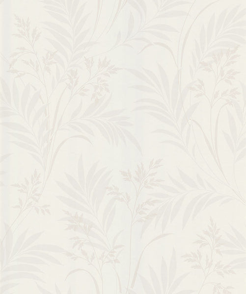 Bali Hai Cream Foliage Wallpaper