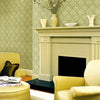 Medici Beige Damask Wallpaper