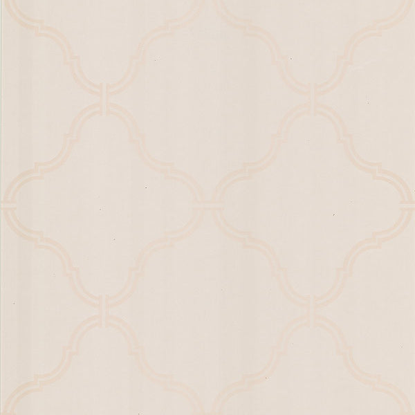 Estate Pearl Moroccan Grate Wallpaper