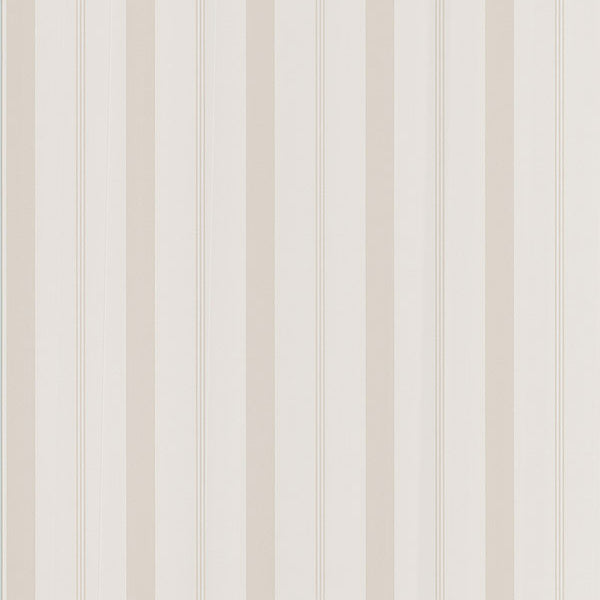Stripes Beige Varied Stripe Wallpaper
