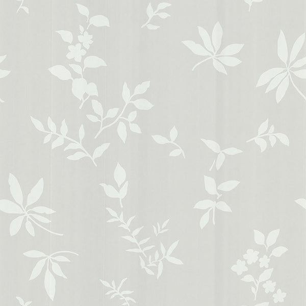 Botanique Beige Leaves Wallpaper