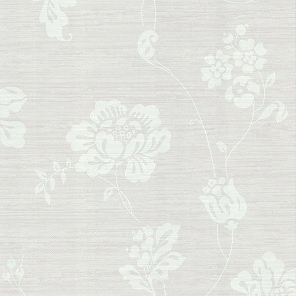 Amizmiz Beige Floral Trail Wallpaper