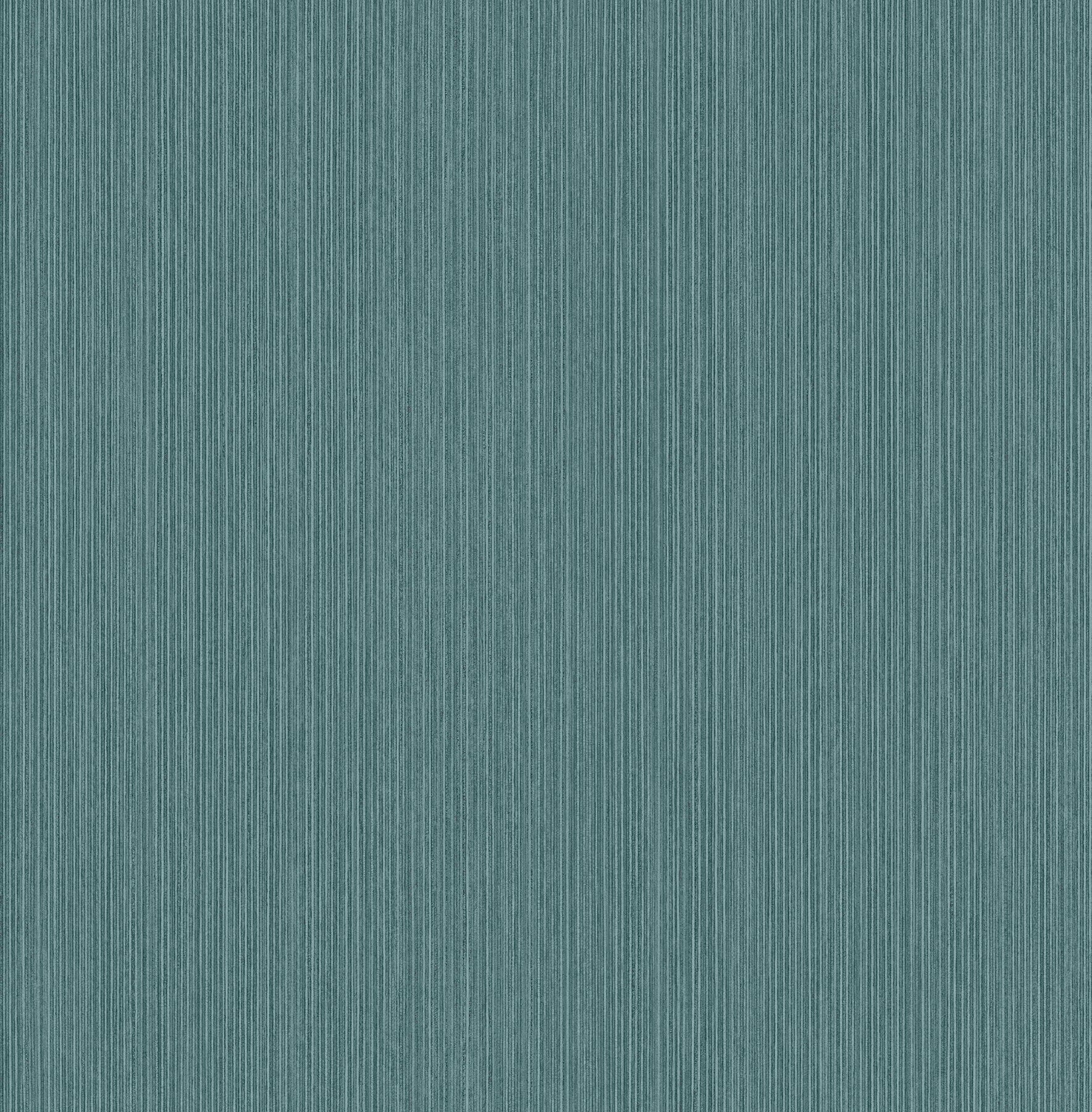 William Teal Plywood Texture Wallpaper