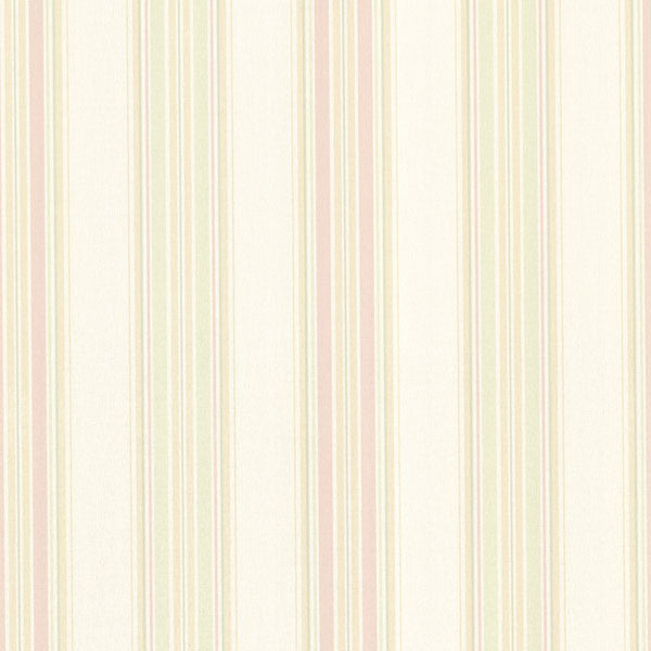 Manor Stripe Blush Stripe Wallpaper