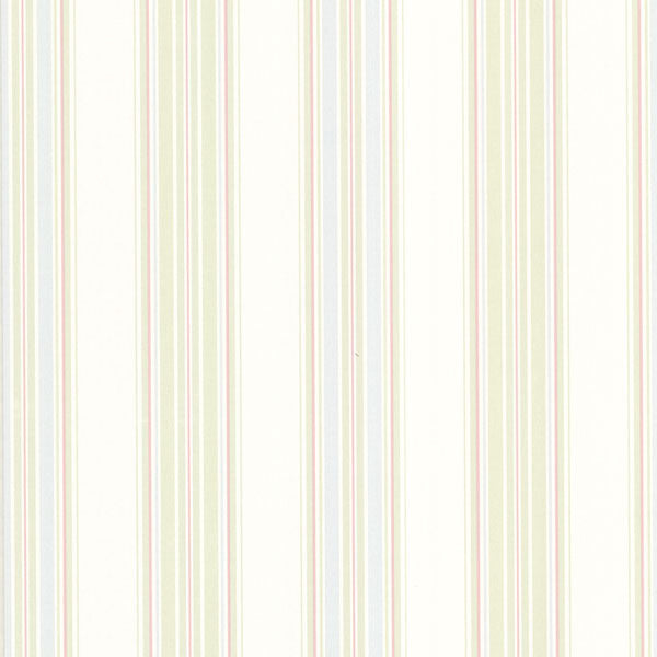 Manor Stripe Pastel Stripes Wallpaper
