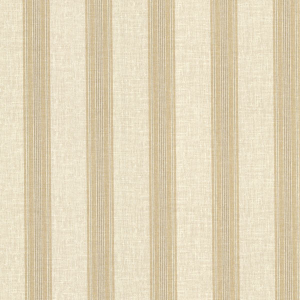 Lineage Beige Stripe Wallpaper