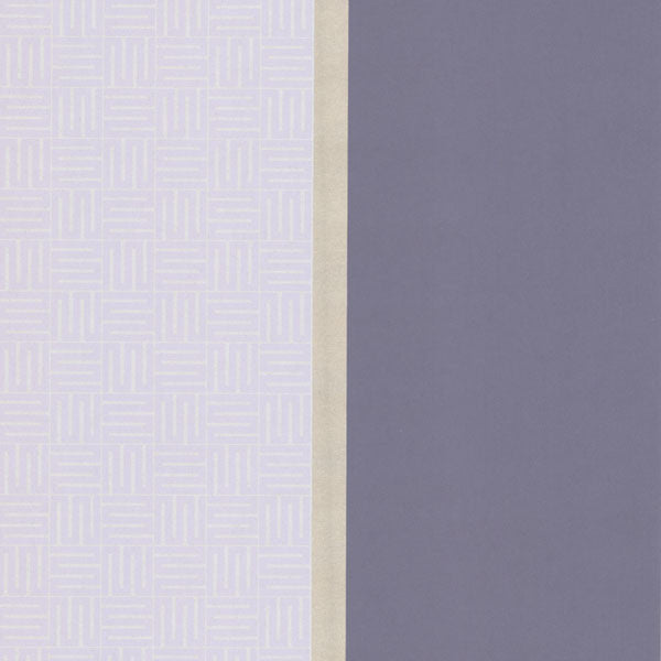 Purple Geo Square Stripe Wallpaper
