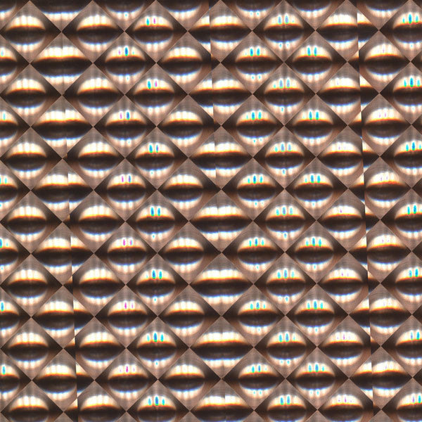 Copper Optical Wallpaper