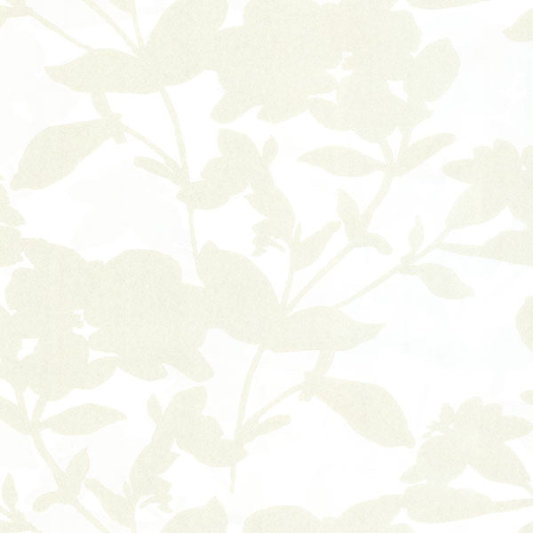 Neutral Large Scale Floral Wallpaper