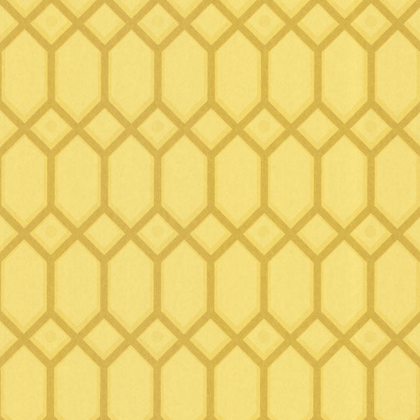 Yellow Ironwork Wallpaper