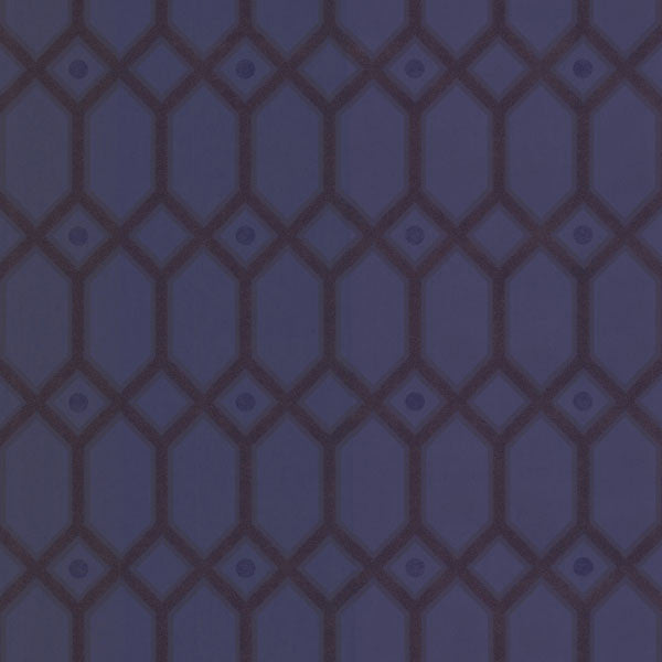 Purple Ironwork Wallpaper