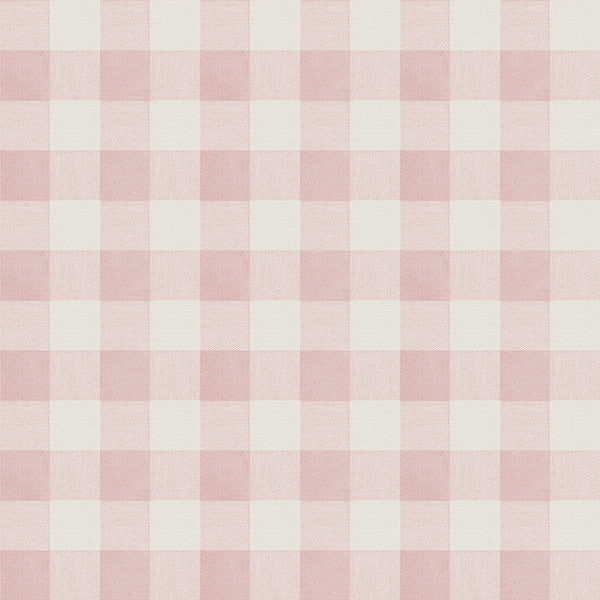 Claire Pink Gingham Wallpaper