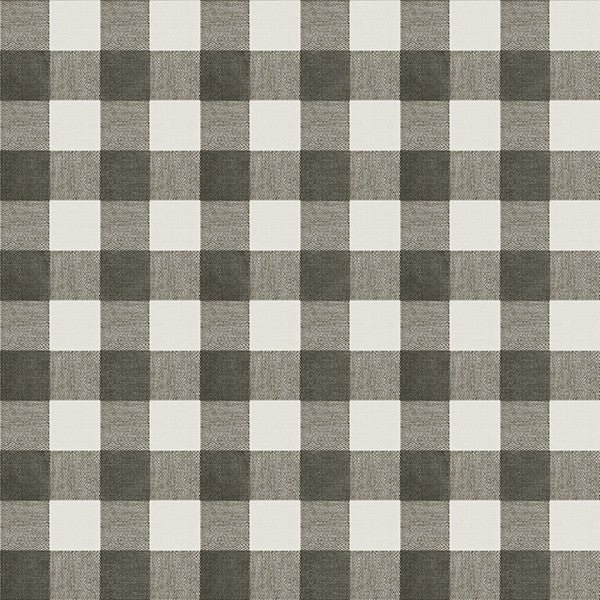 Claire Black Gingham Wallpaper