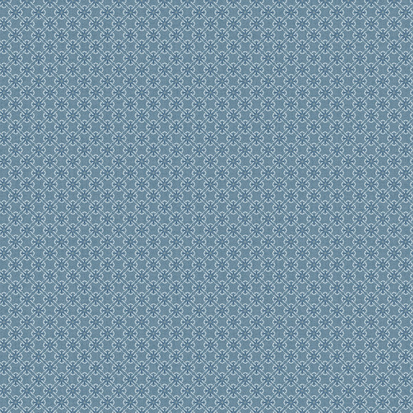 Crosby Blue Floral Wallpaper