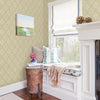 Hessle Yellow Floral Wallpaper