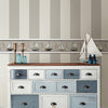 Awning Grey Stripe Wallpaper