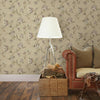Madison Gold Jacobean Wallpaper
