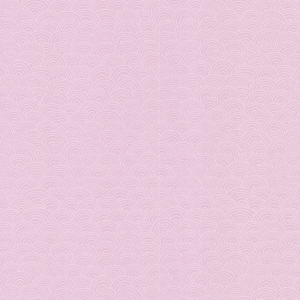 Pink Wave Geometric Wallpaper