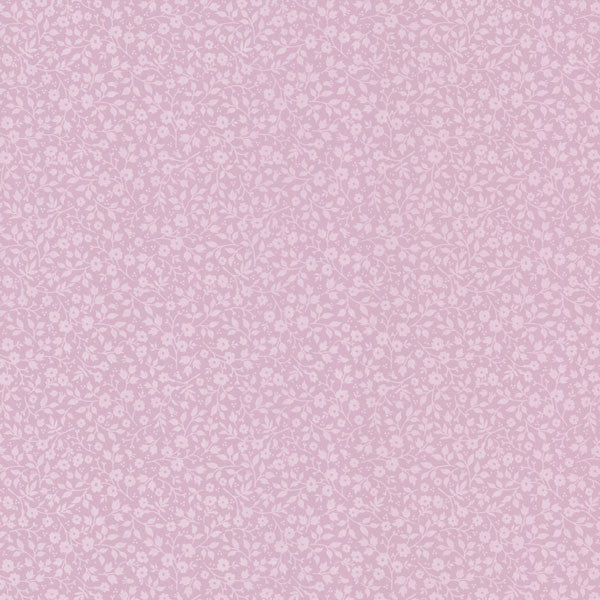 Pink Mini Floral Toss Wallpaper