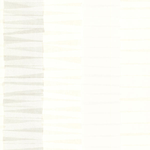 Cala Nova Taupe Layered Crepe Stripe Wallpaper