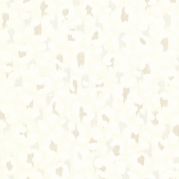 Talamanca Beige Abstract Leopard Wallpaper